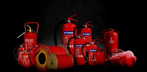 Fire Extinguisher range for rent