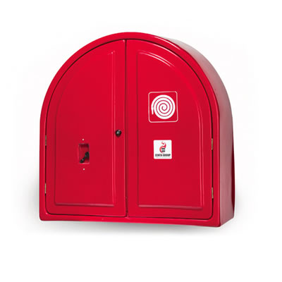 Fire Hose Reel (Double-Door) Lock Open Back Cabinet