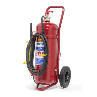 Standard Fire Extinguisher 25kg trolley